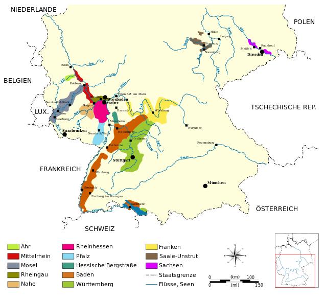 Rheinhessen wijnen