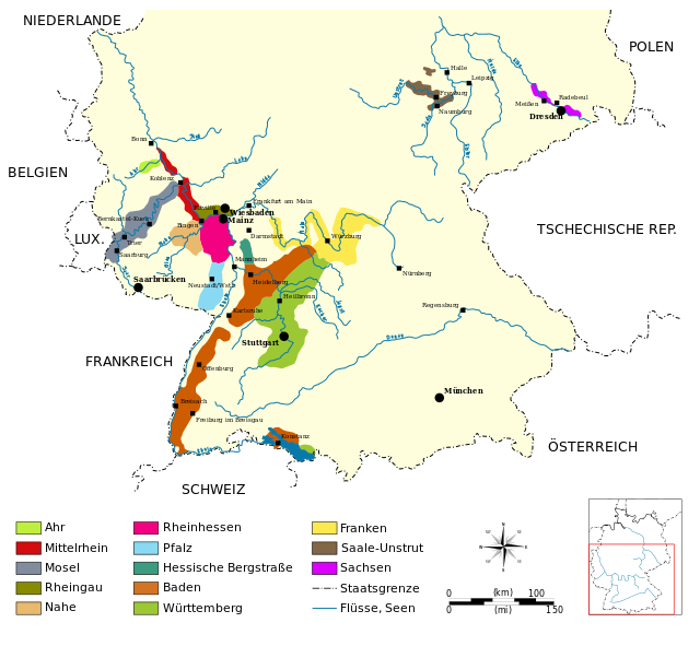 Rheingau wijnen