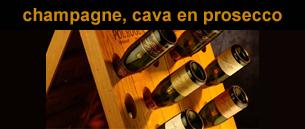 Champagne, Cava, Prosecco, Sekt, Bubbels
