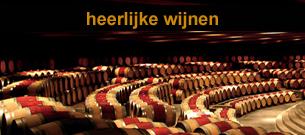 rode wijnen, witte wijnen en rosé wijnen